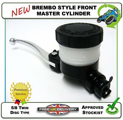 NEW BREMBO STYLE 5/8 FRONT BRAKE MASTER CYLINDER CAFE RACER PROJECT CUSTOM BIKE