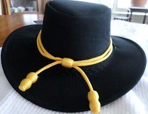 Prudent Western Cowboy Cavalerie Chapeau Couleur Or Réglable New Free Ship Usa-afficher Le Titre D'origine Promouvoir La Santé Et GuéRir Les Maladies