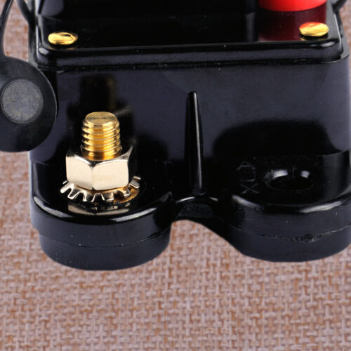 12V DC 60A 100A 250A AMP Stereo Audio Inline Circuit Breaker Fuse fit for Car