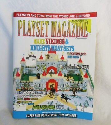 Playset Magazine #93 Marx Vikings /& Knights playsets Fire toys Atomic warship
