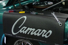 Chevy Black Camaro car mechanics fender cover paint protector vintage style
