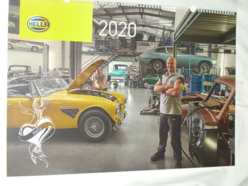Kalender 2020 Hella Workshop Wandkalender  Werkstattkalender 62 x 43 cm Neu