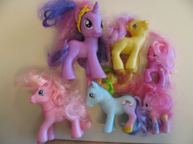My Little Pony Friendship Is Magic Lot G4 Mlp Cherilee Pinkie Rainbow Dash For Sale Online Ebay