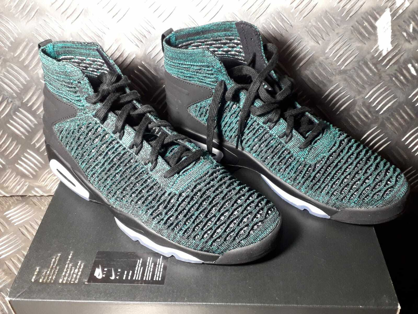 Nike Jordan Flyknit Elevation 23 Turnschuhe Eur 46 UK 11 US 12 gruen AJ8207 300