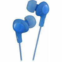 Jvc Gumy Plus Blue Noise Isolation Stereo Earbuds Factory Sealed Package