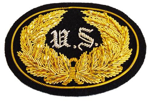 American Civil War ACW Union US Officers Kepi SIZED Insignia Badge