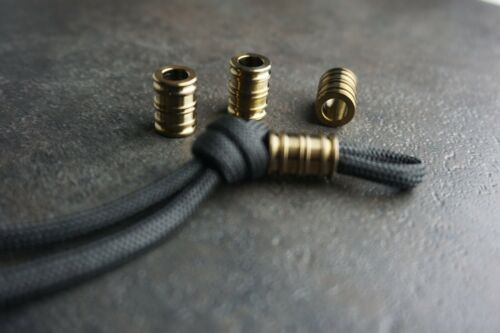 Details about  /Anodized Titanium Beads With Paracord Lanyard