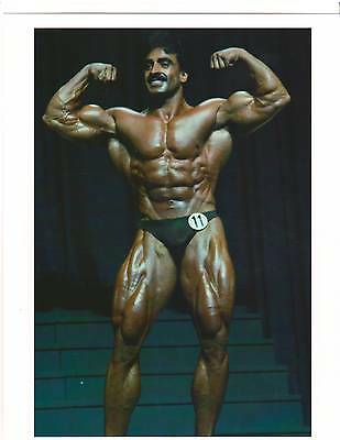 Samir Bannout Mr Olympia Bodybuilding Color Muscle Photo