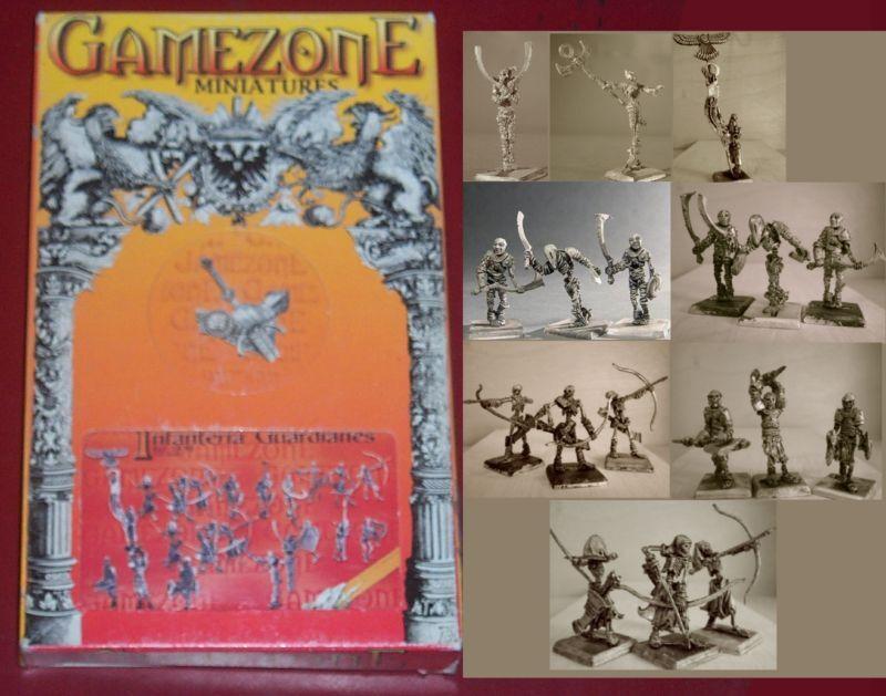 Gamezone 19-90 Tumuli Guardian Infantry Box (21) 28mm Miniatures Undead Warriors