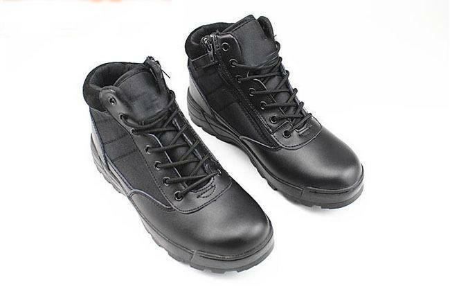 Outdoor classic Mens non slip Tactical Military Army Combat lace up ankle Boots