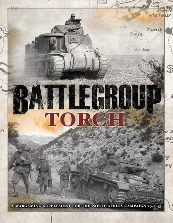 BATTLEGROUP TORCH - PLASTIC SOLDIER COMPANY - WW2- NOW