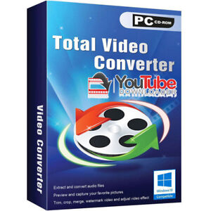 Details about Convert Any Video Youtube Downloader Software Disc CD  Computer Laptop