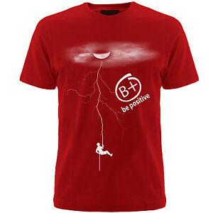 T-shirts-Be-Positive-slogan-tshirts-mens