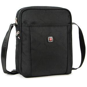 Dakar Men Black durable Travel Work Shoulder Messenger bag ...