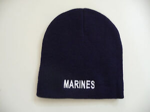 13a1c7b69cb Image is loading NEW-USMC-034-Marines-034-Knit-Watch-Cap-