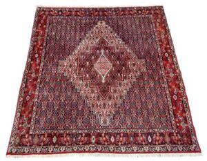 Orient-Perser-Teppich-Senneh-Sanandadj-138x123-Bidjar-Taebris-Rug-Tapis-Tappeto