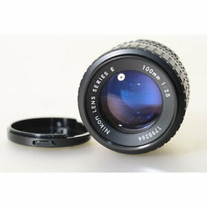 Nikon-Ai-S-2-8-100-Serie-E-Objektiv-Ai-S-100mm-F-2-8-Series-E-Lens