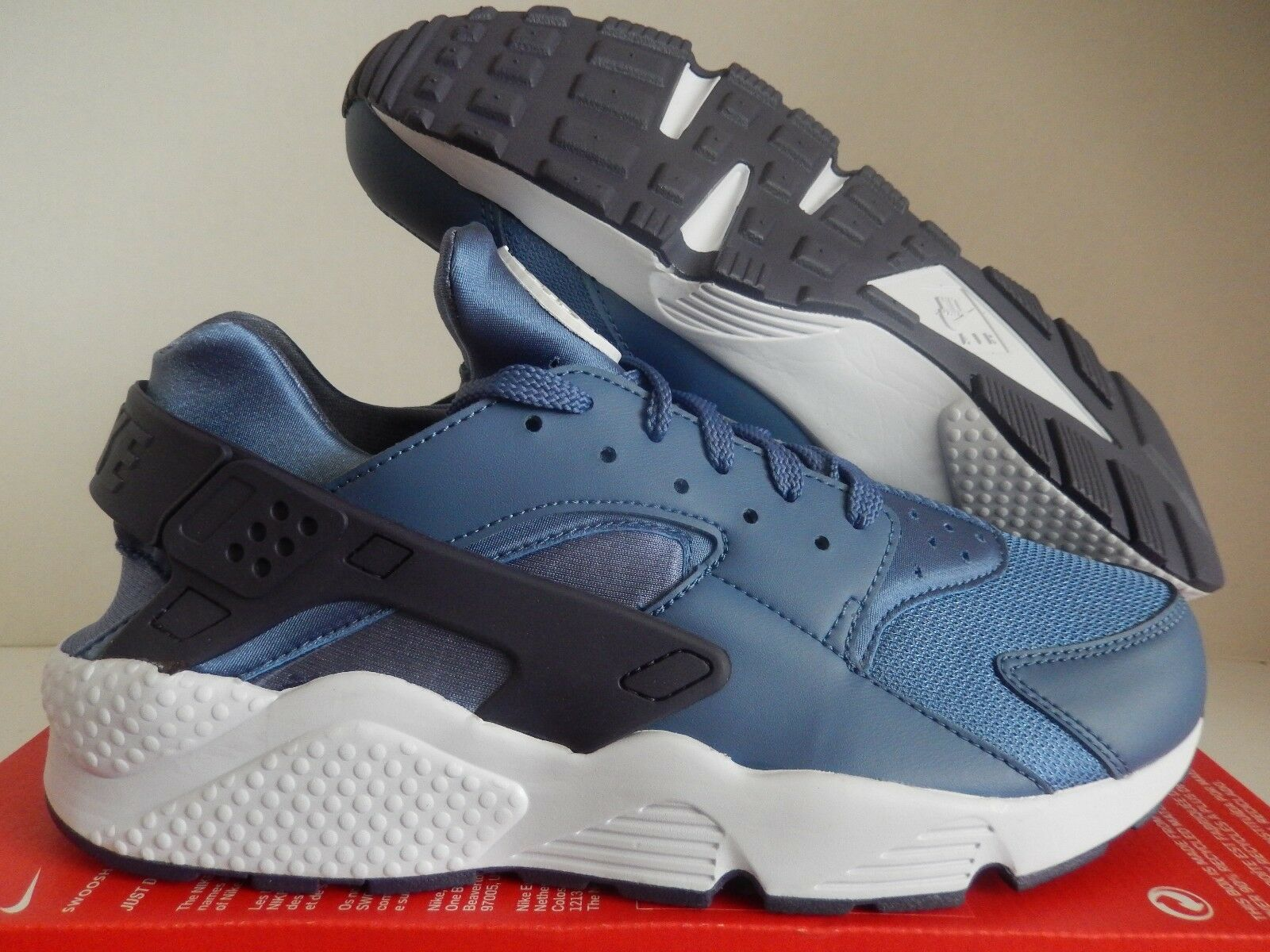 NIKE AIR HUARACHE BLUE MOON-PALE GREY Price reduction Seasonal clearance sale