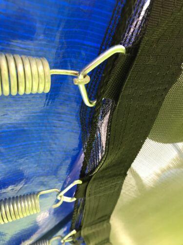 Innenliegendes Sicherheitsnetz 300-305 cm Ø 6 Stangen Netz Trampolin Fangnetz