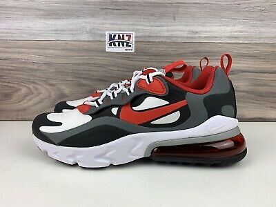 Nike Boys Girls Air Max 270 React Gs Red Grey White Size 6 Y