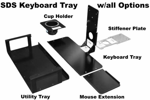 by SDS black Mouse Extension Tray 6x6