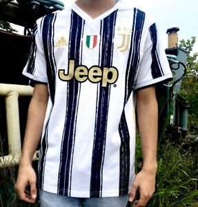 Juventus Cristiano Ronaldo Jersey Serie A Adidas 20/21 L ...