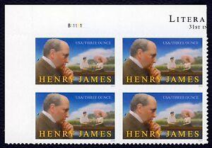 #5105 Henry James, Placa Bloque [B11111 Ul ], Nuevo Cualquier 5=