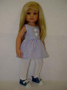Babypuppen & Zubehör Sonstige Babypuppen OHNE PUPPE PUPPENKLEIDUNG für Götz Stehpuppe Hannah 50cm Kleidung 2-teilig