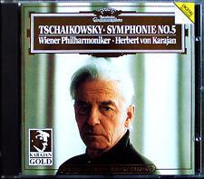 Herbert von KARAJAN Gold TCHAIKOVSKY Symphony No.5 Wiener Philharmoniker DG CD