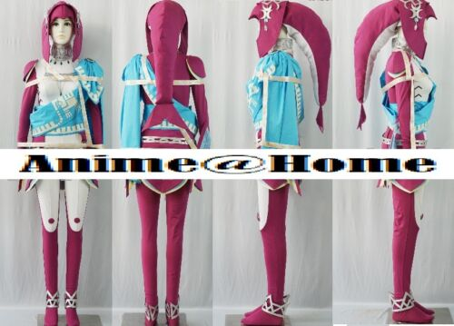 Breath of the Wild Mipha Cosplay Costume High Quality The Legend of Zelda