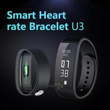 U3 OLED Bluetooth Sport Smart Watch Wristband Pedometer Fitness Tracker Bracelet