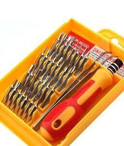 100-Original-Jackly-JK-6032-A-32-in-1-Tweezer-amp-Screwdriver-Set-Repair-Tool-Kit