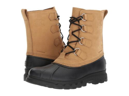 Sorel Mens Portzman Classic Lace Up Waterproof Winter Rain Snow Boots  Shoes