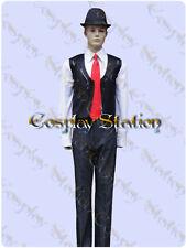 Kamen Rider Double Shotaro Hidari Cosplay Costume_commission619