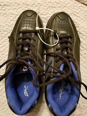 Mens KR Strikeforce Black /& Blue Flyer Bowling Shoes Size 7
