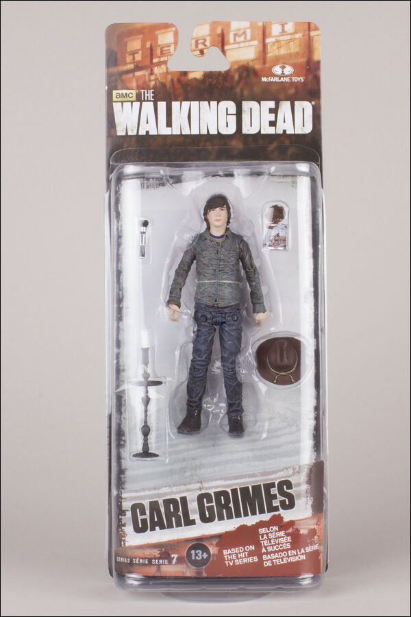 CARL GRIMES THE WALKING DEAD TV SERIES 7, 5  ACTION FIGURE MCFARLANE TOYS