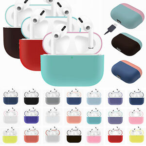 Fits Apple Airpods Pro Wireless Charging Case Silicone Protective Case Cover Ebay
