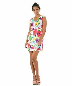 NEW-Jams-World-Sherry-Dress-Maroschino-Hawaiian-Sundress-XL-Made-in-USA