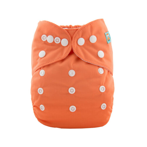 Insert ALVABABY Reusable Washable Cloth Diapers One Size Best Pocket Nappies