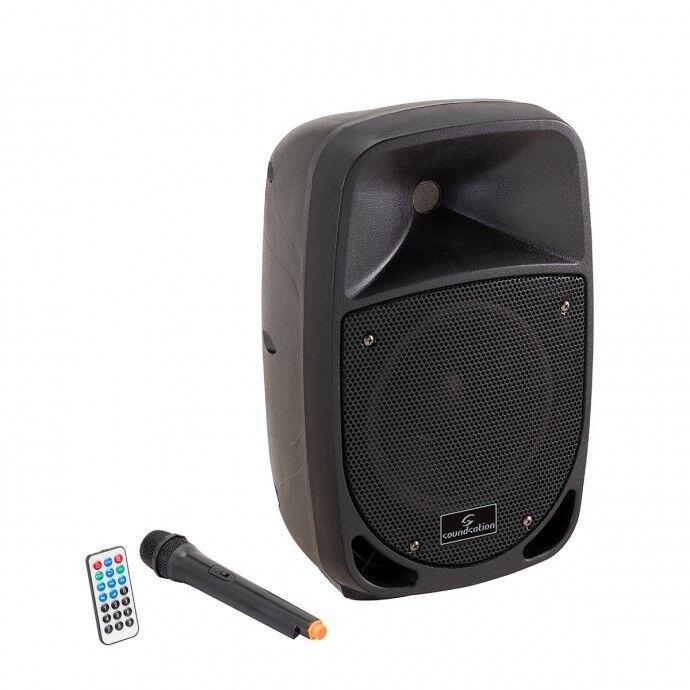 Soundsation Go-Sound 8AMW - Diffusore Attivo a Batteria 250W dj karaoke