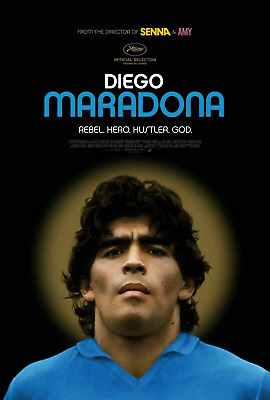 Diego Maradona 2019 Movie Art Silk Poster 24x36inch | eBay