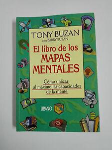 EL LIBRO DE LOS MAPAS MENTALES por Tony Buzan 1996
