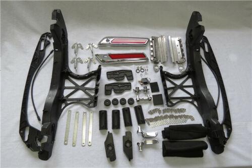 harley Saddlebag Latch Lids Hardware Covers Kit For Harley Street Glide 14-18
