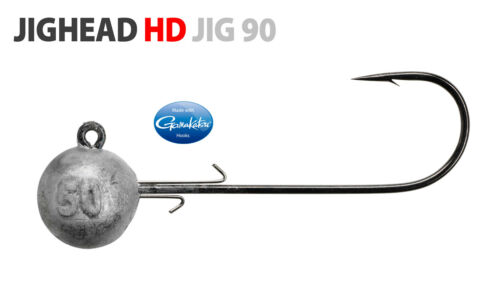 JIGKOPF JIGHEAD HD JIG 90  Rund Spro//Gamakatsu Gr 4//0-6//0-8//0