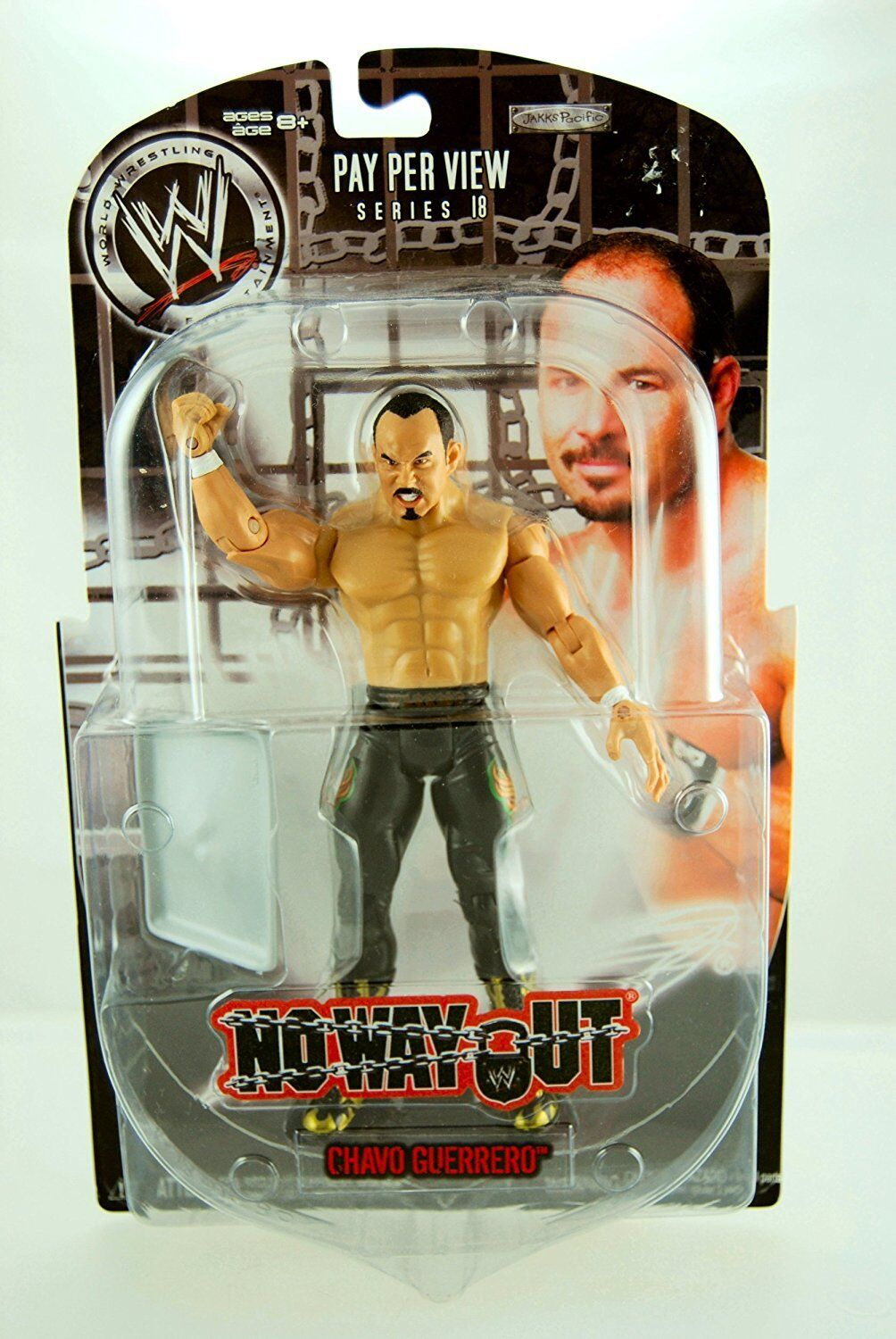WWE 2008 NO WAY OUT PPV SERIES 18 CHAVO GUERRERO