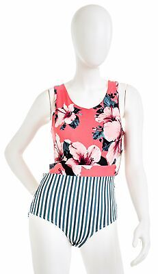 NEW Beloved WOMENS ONE PIECE SWIMSUIT LUSH GALAXY XSMALL-2XLARGE MADE IN THE USA