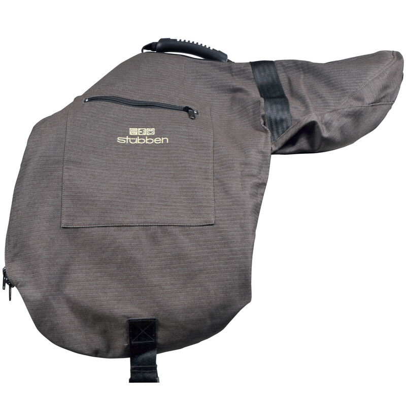 STUBBEN UNIQUE POSH Zipped TEXTILE Carrying Bag EVENT JUMPING GP  SADDLE Cover  with 100% quality and %100 service