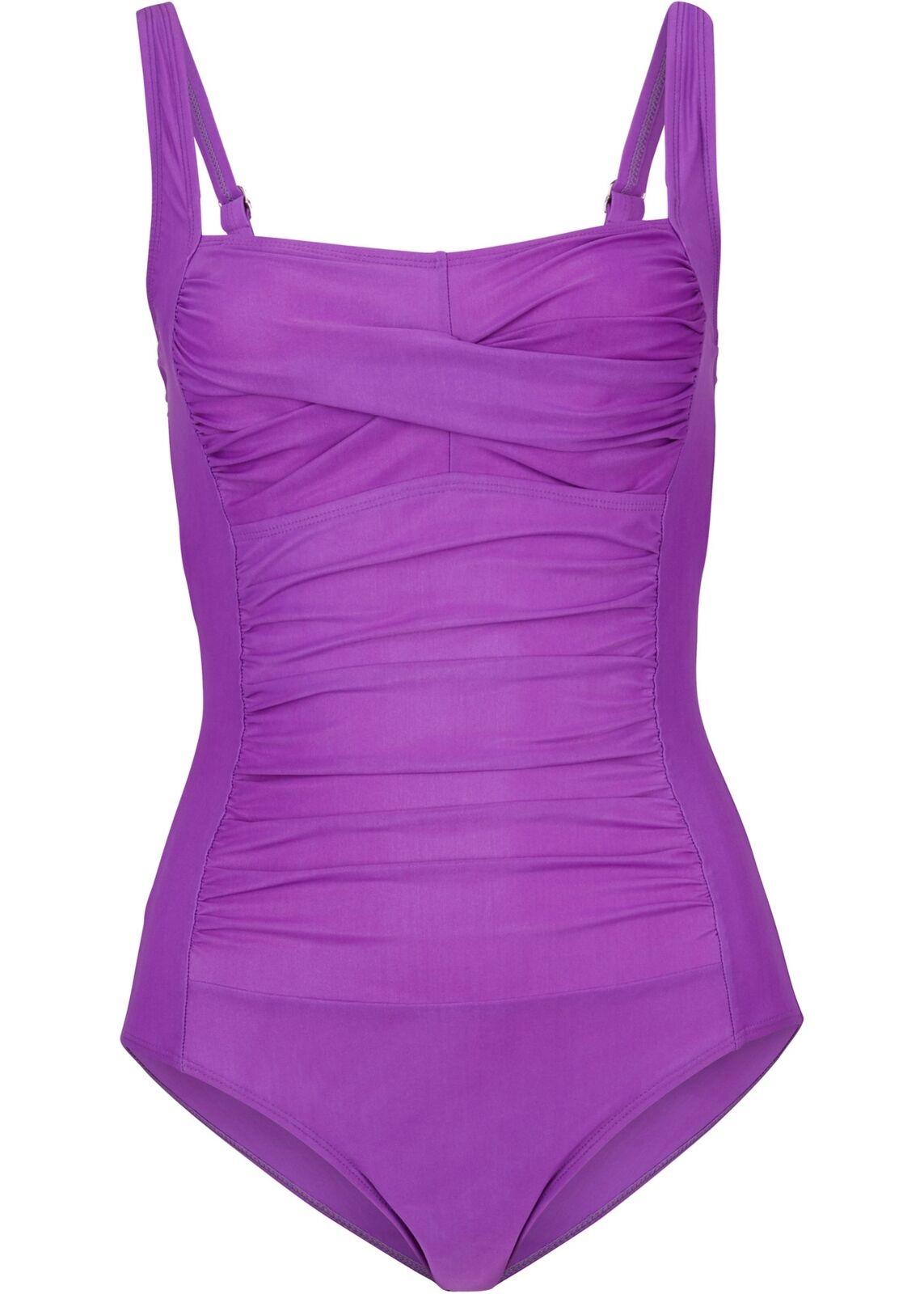 Shape Badeanzug Gr. 36 Flieder Damenbadeanzug Schwimm-Anzug Einteiler Neu*