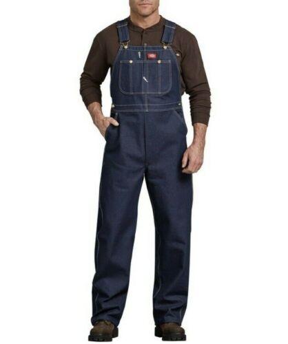 Dickies Rigid Blue Denim Bib Overalls Size 52X32 - image 1