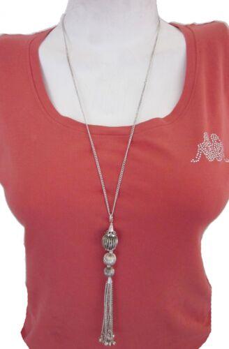 Long Sweater Necklace Boho Gypsy Hippie Free Spirit Minimalist Fashion Jewelry